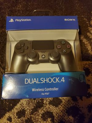 Steel Black PS4 controller for Sale in San Jose, CA
