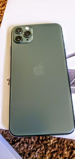 Brand New iphone 11 Pro Max Factory Unlocked Olive Green for Sale in Stockton, CA