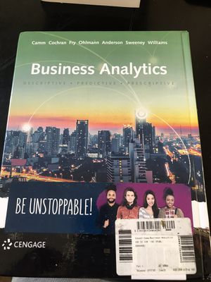 Business Analytics (cengage) for Sale in Rodeo, CA