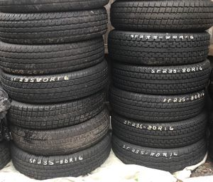 Used ST235/80/r16 Trailer Tire Sale for Sale in Orlando, FL