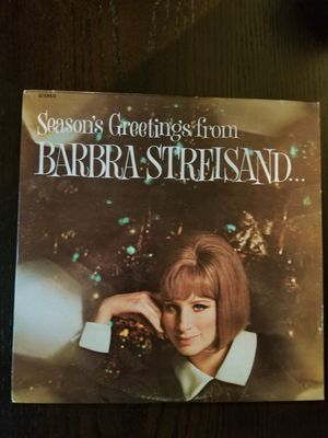 Season's Greetings from Barbra Streisand Vinyl LP Album for Sale in Willowbrook, IL