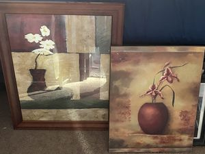 Picture decor. Heavy frame/wood for Sale in Bakersfield, CA