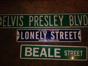 Elvis Presley street signs for Sale in Oak Lawn, IL