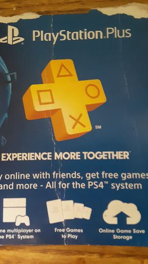 Psn for ps4, ps3 for Sale in US