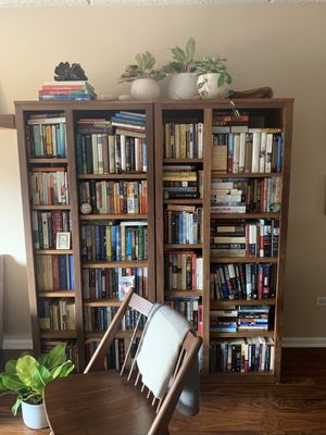 Walnut bookshelves from Room and Board for Sale in Mount Prospect, IL