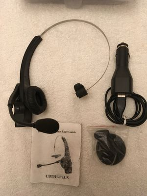 Bluetooth Head Set with Mic by Cobra for Sale in Geneva, OH