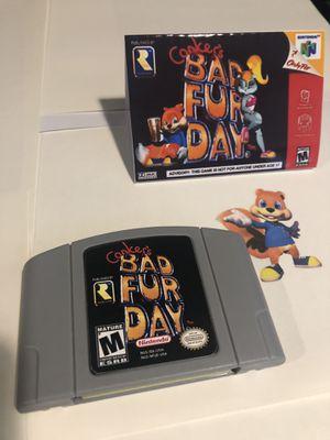 Conker's Bad Fur Day Game Pak Nintendo 64 N64 for Sale in Renton, WA