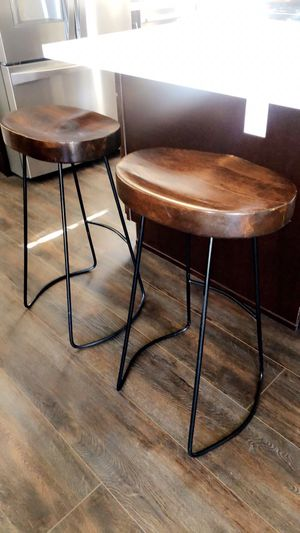 """Wooden 29"""" bar stools. for Sale in La Mirada, CA"""