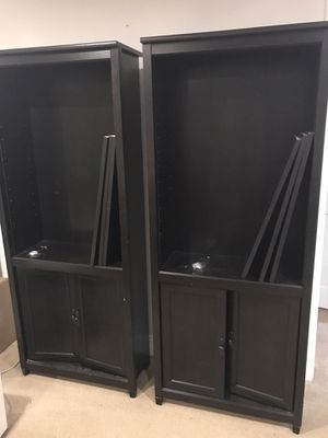 Black bookshelves for Sale in Washington, DC