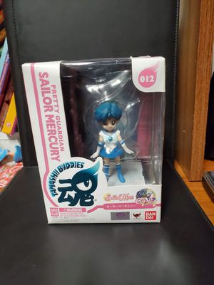 Tamashii Nations Bandai Buddies Sailor Mercury 012 Sailor Moon Action Figure funko for Sale in Dallas, TX
