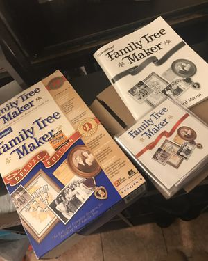 Family tree maker deluxe edition for Sale in Vancouver, WA