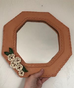 Terra-cotta Mirror for Sale in Tucson, AZ