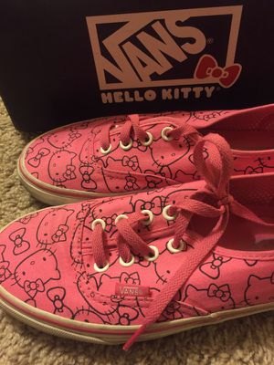 Hello Kitty Vans Size 7.5 for Sale in Dallas, TX