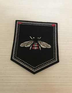 Small Bee Black Iron On Patch for Sale in Raleigh,  NC