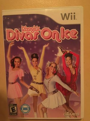 Nintendo Wii divas on ice for Sale in Visalia, CA