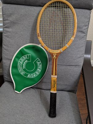 Spalding Tennis Racquet Racket Retro 1970s with Cover for Sale in Lake Forest, CA