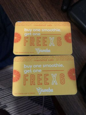 Jamba Juice cards for Sale in Fresno, CA