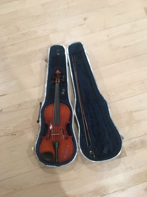 Mozart by Meisel Violin Model 6104 3/4 Size With Case And Bow for Sale in Denver, CO