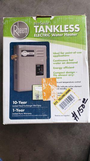 Rheem EcoSense Electric Tankless Water Heater for Sale in Kemp, TX