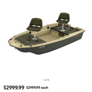 2019 Sun Dolphin Pro 120 Boat Lots Of Extras for Sale in Lincoln, RI
