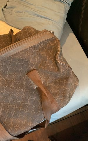 Brown Gucci duffle bag 100% authentic for Sale in Beverly Hills, CA