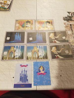 Walt Disney cinderella dufex 5 card set (missing #5 for Sale in Villages of Dorchester, MD