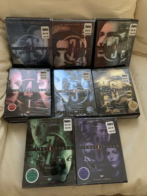 The X files complete collectors edition seasons 1-8 for Sale in Manteca, CA