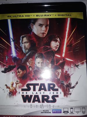 Star Wars the Last Jedi for Sale in Marysville, WA