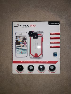Optrix Pro Lens Kit for iPhone 5/5S/SE for Sale in Davenport, FL