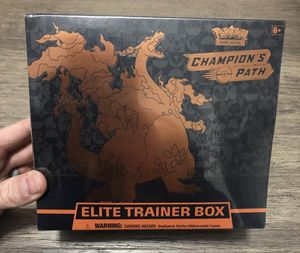 POKEMON Champions Path Elite Trainer Box ETB TCG Factory Sealed for Sale in Pinellas Park, FL