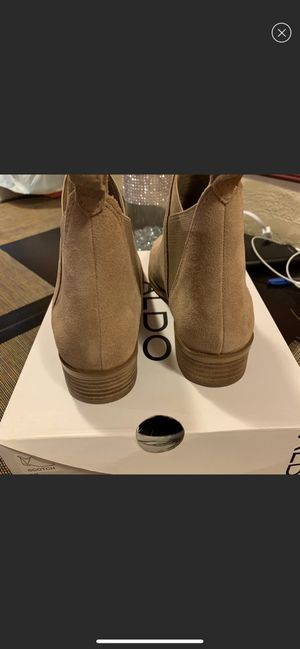 Aldo suede ankle boots for Sale in Riverdale, IL