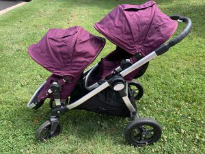 Baby Jogger City Select Double Stroller for Sale in Silver Spring, MD