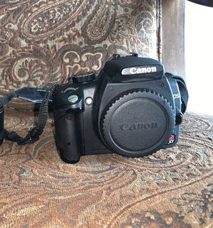 Canon EOS Rebel XT & 18-55mm lens for Sale in Lewisville, TX