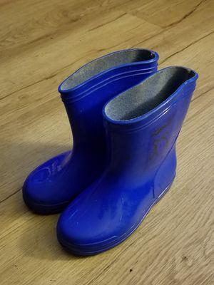 Locals kid's rain boots, sz 7 for Sale in Sedro-Woolley, WA