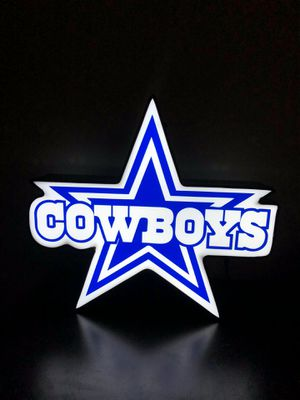 Cowboys aluminum LED sign for Sale in El Monte, CA