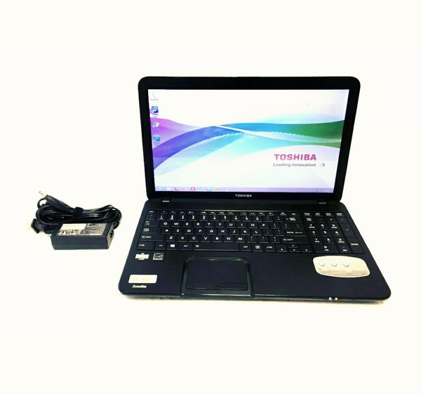 TOSHIBA Laptop Satellite C855D-S5320 AMD E2-Series E2-1800 (1.7 GHz) 4 GB Memory 500 GB HDD AMD Radeon HD 7340 15.6""