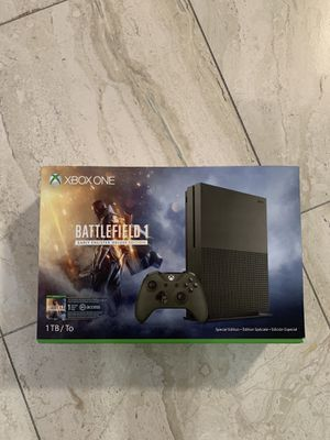 Microsoft Xbox One S 1TB – Battlefield 1 Special Edition for Sale in Brentwood, TN