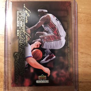 Lebron James Rookie Card - Mint condition for Sale in Fairfax, VA