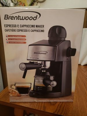 Brentwood expresso and cappuccino maker for Sale in Arnold, MO