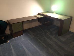 Large desk for Sale in Ashburn, VA