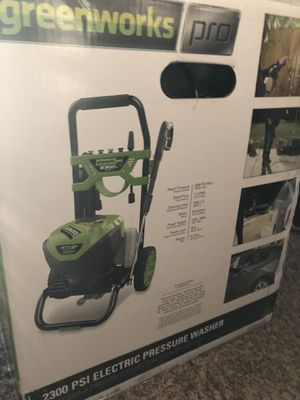 New Greenworks Pro Electric power washer 2300psi for Sale in Modesto, CA