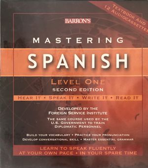 Barrons learn Spanish system for Sale in Clearwater, FL