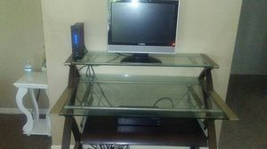 Glass desk top for Sale in Corpus Christi, TX