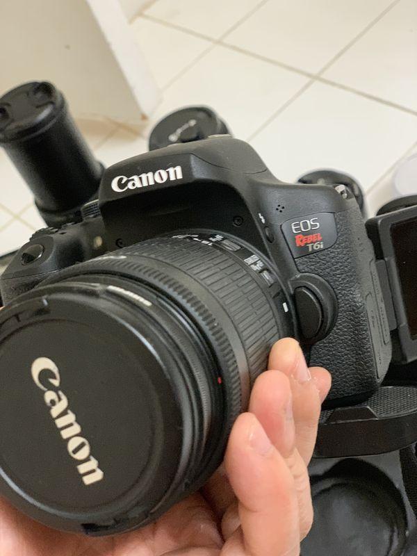 T6i DSLR AND VIDEO BUNDLE