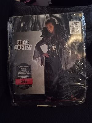 HALLOWEEN COSTUME SPIDER COUNTESS for Sale in Phoenix, AZ