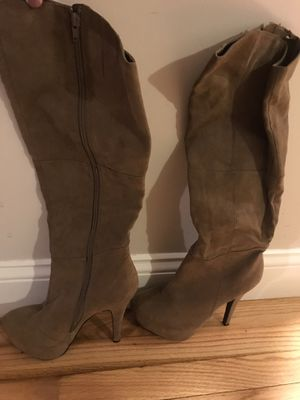 Platform suede boots for Sale in Weymouth, MA
