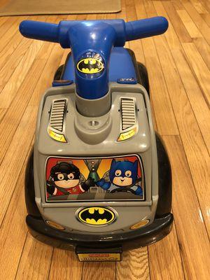 Fisher Price Little People Batman Ride On car for Sale in Braintree, MA