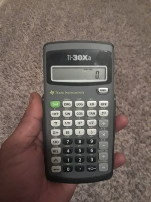 Texas instrument calculator for Sale in Garland, TX