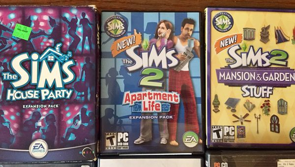 SIMS 1 & 2 PC Games