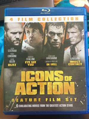 Icons of action 4 rated R movies for Sale in Richmond, VA